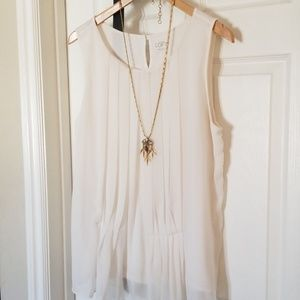 Top very good condition size XL color pearls